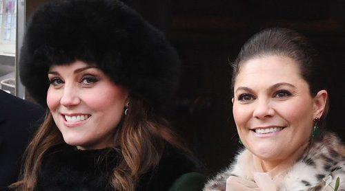 Así ha sido la visita de los Duques de Cambridge a los Príncipes Victoria y Daniel de Suecia