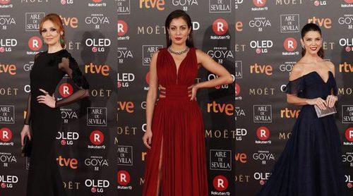 Cristina Castaño, Hiba Abouk y Juana Acosta entre las mejor vestidas de los Premios Goya 2018