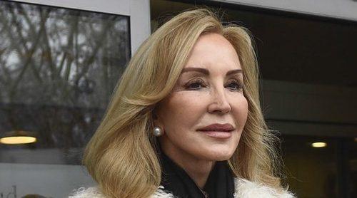 Carmen Lomana recibe el alta hospitalaria después de ser operada de un riñón