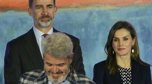 El reencuentro de Felipe y Letizia con Lorenzo Caprile marcan la entrega de las Medallas de Oro en las Bellas Artes