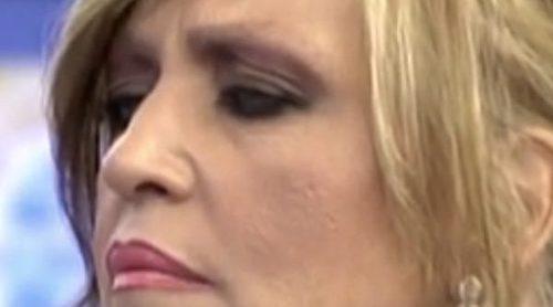 Lydia Lozano se somete a un tratamiento para recuperar sus cejas