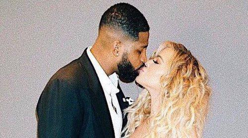 Khloe Kardashian muestra su amor a su novio en Instagram a pocas semanas de dar a luz
