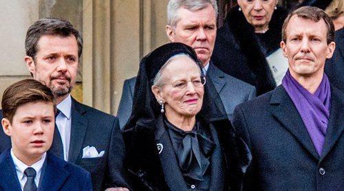 Emoción, tristeza y apoyo familiar: así ha sido el funeral de Enrique de Dinamarca