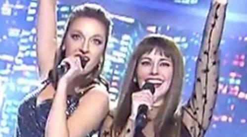Ana Guerra y Aitana, orgullosas de la imitación de Anna Simon y Cristina Pedroche con 'Lo malo'