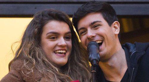 Amaia y Alfred, recibidos como héroes en Pamplona con declaración cómica incluida