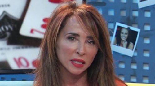 María Patiño vuelve a la televisión mostrando cómo ha quedado tras su retoque estético