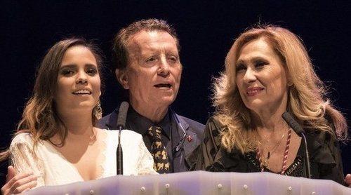 Ortega Cano consigue reunir a la familia Jurado en un acto benéfico presentado por Rosa Benito