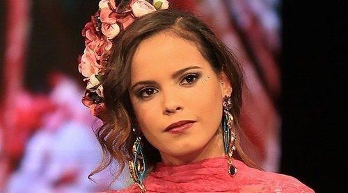 Gloria Camila, muy orgullosa de su padre tras aparecer en un cuadro de ARCO