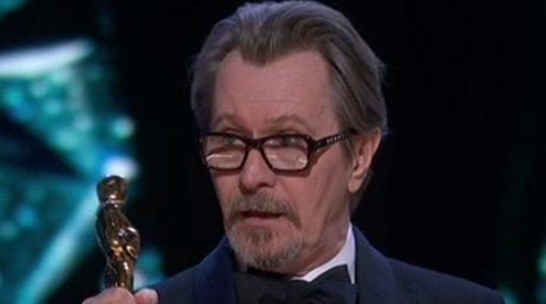 Gary Oldman se lleva el Premio Oscar 2018 a Mejor actor protagonista por 'El instante más oscuro'