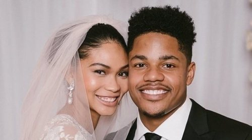 Chanel Iman y Sterling Shepard ya son marido y mujer