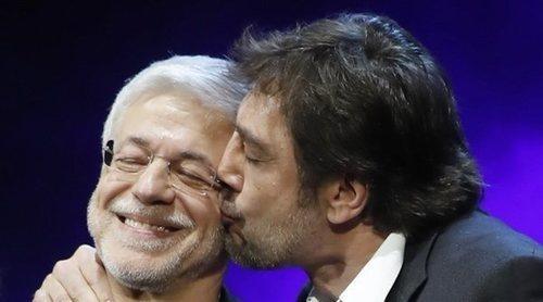 El gran homenaje de Javier Bardem a su maestro Juan Carlos Corazza: 'Me ha enseñado a amar mi profesión'