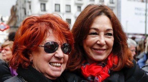 Ana Rosa Quintana, Isabel Gemio... Las periodistas se unen en la manifestación del 8M