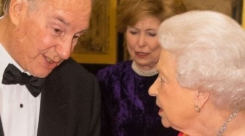 La cena que la Reina Isabel dio en honor al salvador de la Infanta Cristina en Windsor