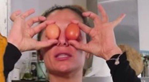 El reproche de Sandra Barneda al ponerse Nagore Robles a cocinar: 'Yo eso no me lo como'