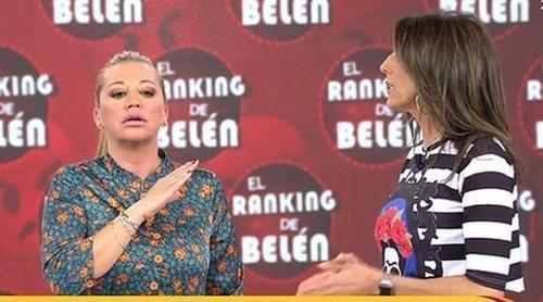 Belén Esteban se enfada con Paz Padilla por mencionar a su hija Andrea: 'De mi niña no se habla'