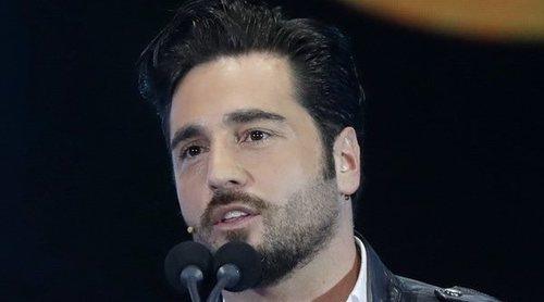 David Bustamante huye de la prensa en los Premios Cadena Dial 2018 para no hablar de su divorcio