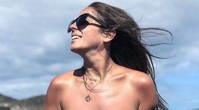 Anabel Pantoja muestra su cuerpo, presumiendo de sus cicatrices: ¡Me encanta mi barriga!