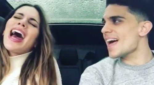 Marc Bartra y Melissa Jiménez enseñan su talento musical con un divertido vídeo