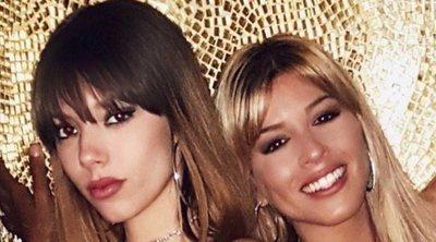Alejandra Rubio, hija de Terelu Campos, disfruta de la noche madrileña con Oriana Marzoli y Aless Gibaja