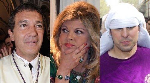 Antonio Banderas, las Campos o Francisco Rivera: famosos que viven con fervor la Semana Santa