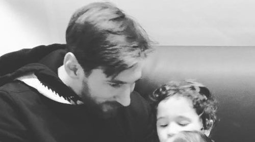 Leo Messi muestra su lado más paternal: 'Soy un padre más, como tiene que ser'