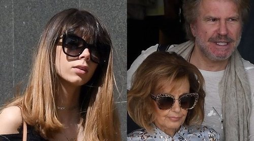 Alejandra Rubio y María Teresa Campos disfrutan de la Semana Santa cada una a su manera