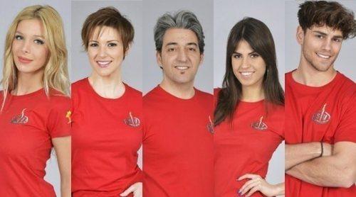 Romina Malaspina, María Jesús Ruiz, Fernando Marcos, Sofía Suescun y Sergio Carvajal, nuevos nominados de 'SV 2018'