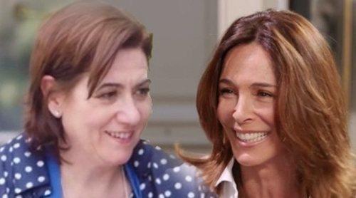 El reencuentro Lydia Bosch y 'Médico de Familia' en 'Mi casa es la tuya'