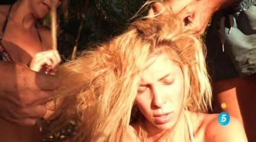 Romina Malaspina está a punto de perder su pelo en 'Supervivientes 2018'