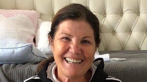 Dolores Aveiro, cada vez más orgullosa de sus nietos Eva, Mateo y Alana Martina: 'Con los amores de mi vida'