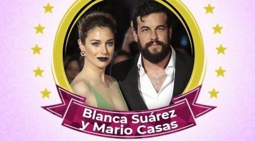 Blanca Suárez y Mario Casas, celebrities de la semana por su apasionado beso