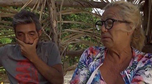 Mayte Zaldívar culpa a Raquel Mosquera de la expulsión de Fernando en 'Supervivientes 2018: