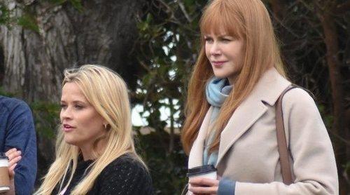 Nicole Kidman y Reese Whiterspoon ya están rodando la segunda temporada de 'Big Little Lies'