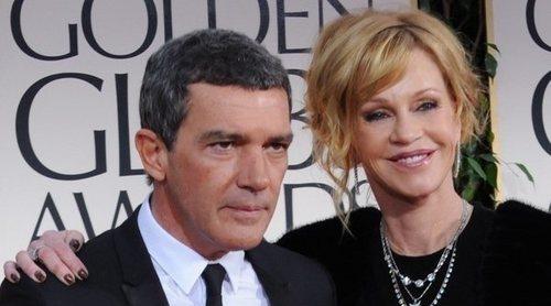 Melanie Griffith presume de la buena relación de su hija Stella del Carmen y su ex Antonio Banderas