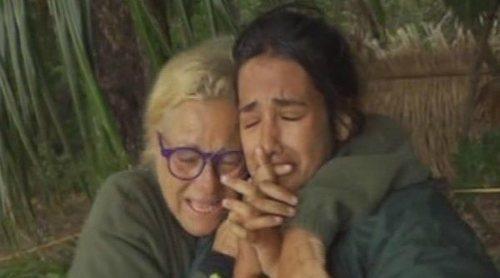 La desesperación de Mayte Zaldívar y Melissa Vargas a consecuencia del temporal en 'Supervivientes 2018'