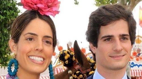 Fernando Fitz-James Stuart y Sofía Palazuelo disfrutan de la Feria de Abril tras anunciar su compromiso