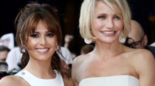 Cheryl Cole se une a Cameron Diaz en el estreno de 'Qué esperar cuando estás esperando' en Londres