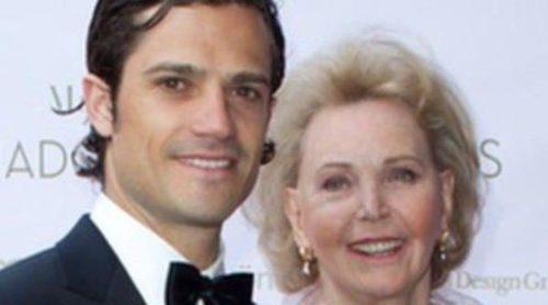 Carlos Felipe de Suecia y Noor de Jordania asisten a la entrega de los Premios Marianne & Sigvard Bernadotte