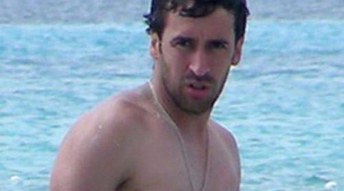 Raúl se lo pasa en grande con sus hijos durante sus vacaciones en Formentera