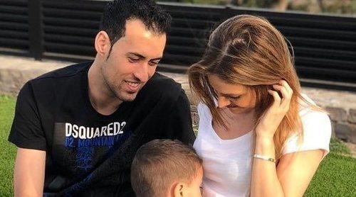Elena Galera y Sergio Busquets esperan su segundo hijo: 'Sumando felicidad'
