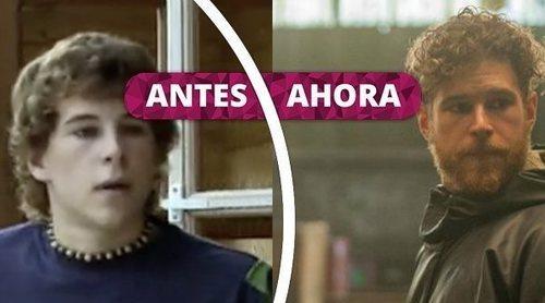 Así ha cambiado Álvaro Cervantes: De 'Abuela de verano' a 'La Zona'