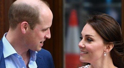 La Casa Real Británica revela el nombre del tercer hijo del Príncipe Guillermo y Kate Middleton