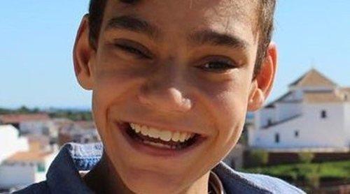 El pequeño Adrián Martín aparece muy recuperado divirtiéndose con Paz Padilla