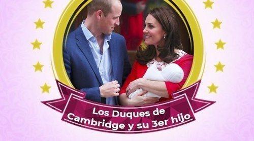 El Príncipe Luis de Cambridge: de su nacimiento a su presentación y los nombres que parecían no llegar nunca