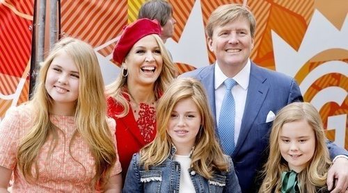 El Rey Guillermo de Holanda celebra su cumpleaños rodeado de familia y con el cariño del pueblo