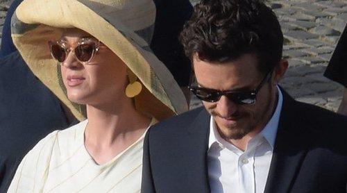 Katy Perry y Orlando Bloom viajan juntos a Roma y conocen al Papa Francisco en El Vaticano