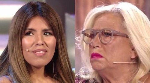 Así fue el encuentro más esperado de Chabelita Pantoja y Mayte Zaldívar en el plató de 'Supervivientes 2018'