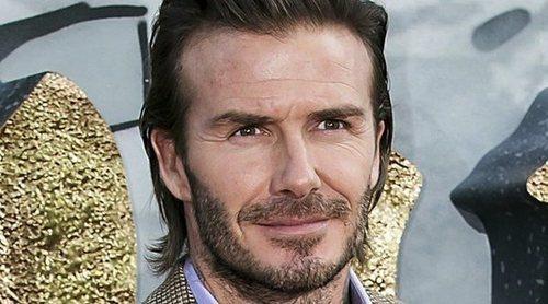 David Beckham muestra las consecuencias de un aparatoso accidente