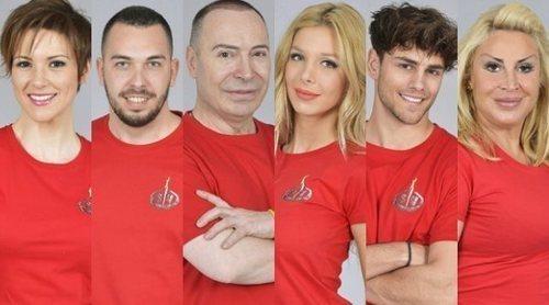 María Jesús, Alberto Isla, Maestro Joao, Romina, Sergio y Raquel Mosquera son los nuevos nominados de 'SV 2018'