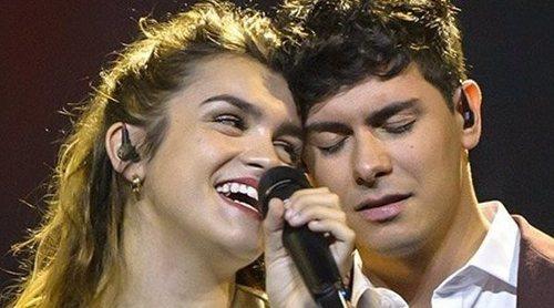 Amaia y Alfred visitan Sintra antes del ensayo del domingo y la Gala de Apertura de Eurovisión 2018